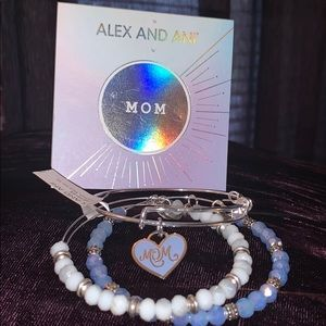 "Alex and Ani Color infusion limited ""mom set"" NEW"